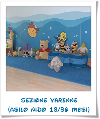 Sezione Varenne (asilo nido 18/36 mesi)